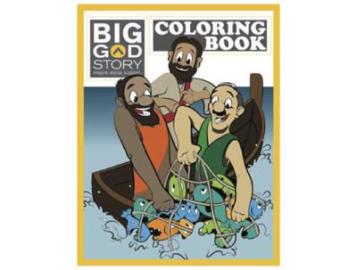 Tru Big God Story Coloring Book